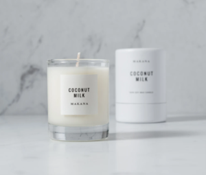 Makana Petite 3 oz. Candle -- Coconut Milk
